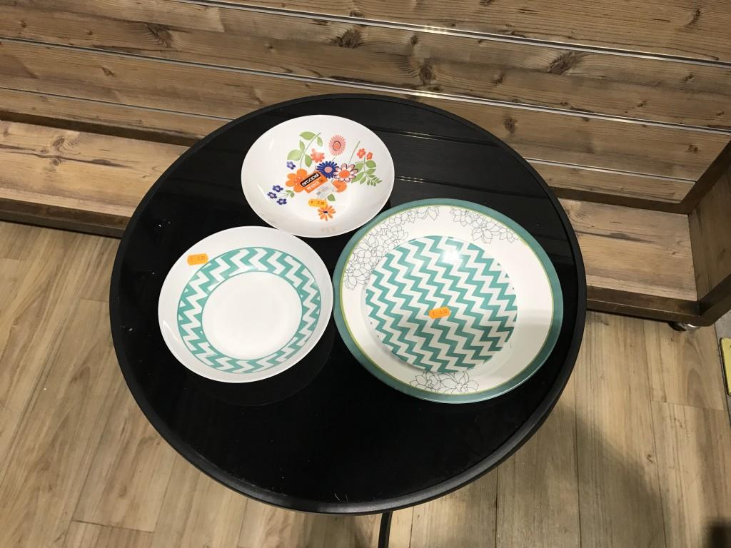 Couettes / Verres ; Vaisselles