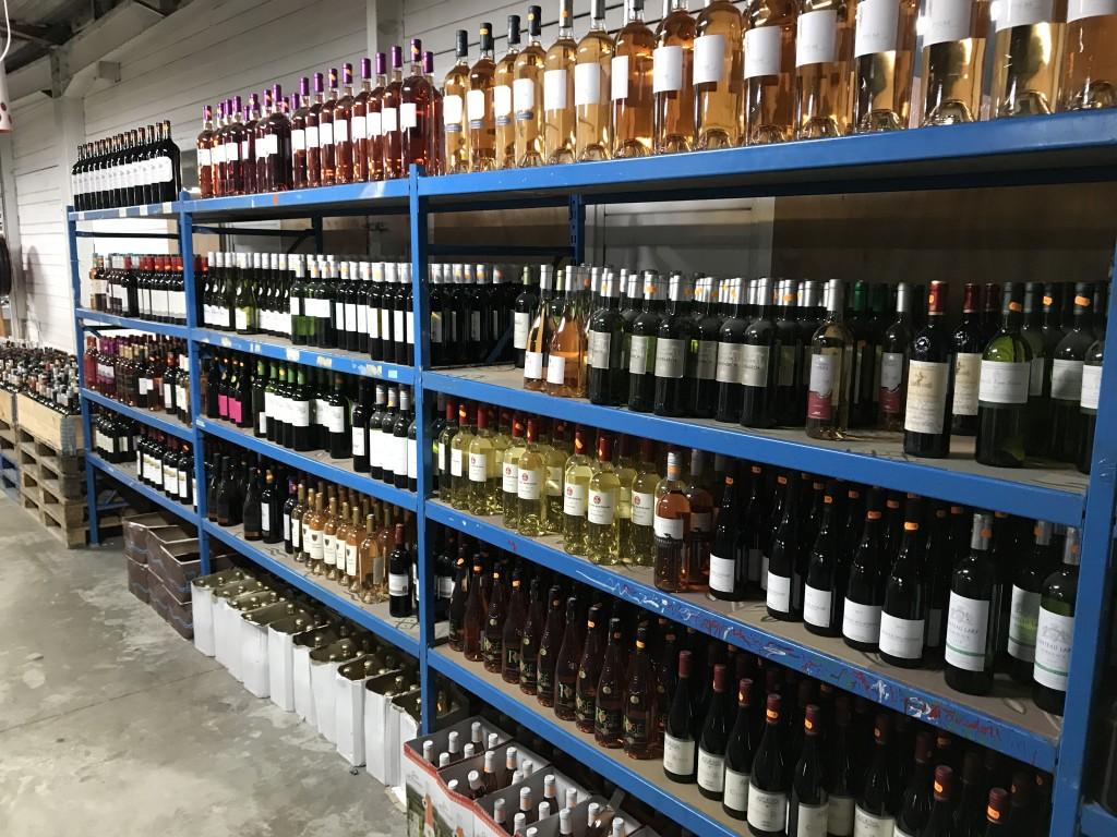 Valises / Bijoux / Vins