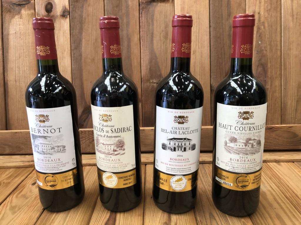 Gros lot de vin